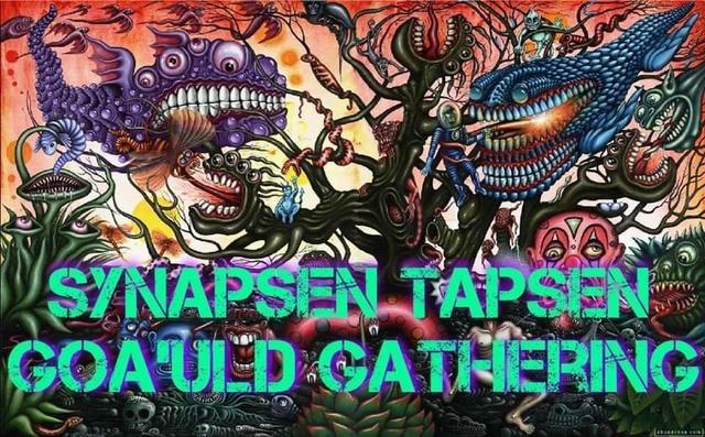 Party Flyer Synapsen Tapsen // GOA'ULD GATHERING 30 Nov '19, 22:00