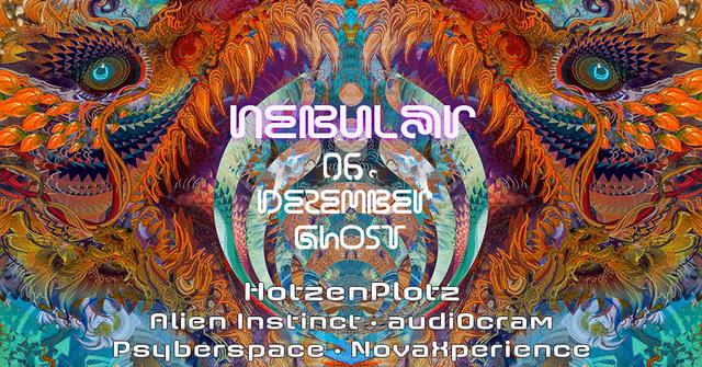 Party Flyer Nebular ॐ Goa & Psytrance 6 Dec '19, 23:30