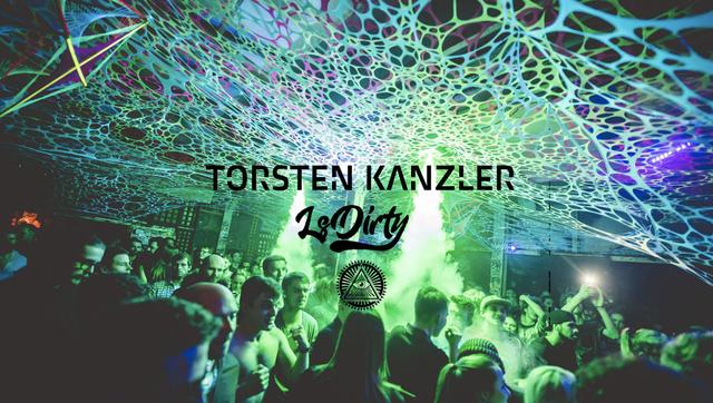 Party Flyer Nibirii in Odonien: Torsten Kanzler / LSDirty / Gourski 7 Dec '19, 23:00