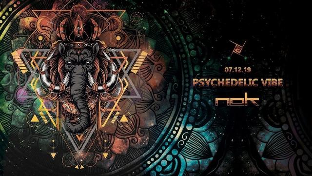 Party Flyer Psychedelic VIBE /w NOK 7 Dec '19, 23:00
