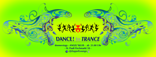 Party Flyer DANCE! to TRANCE 12 Dec '19, 21:00