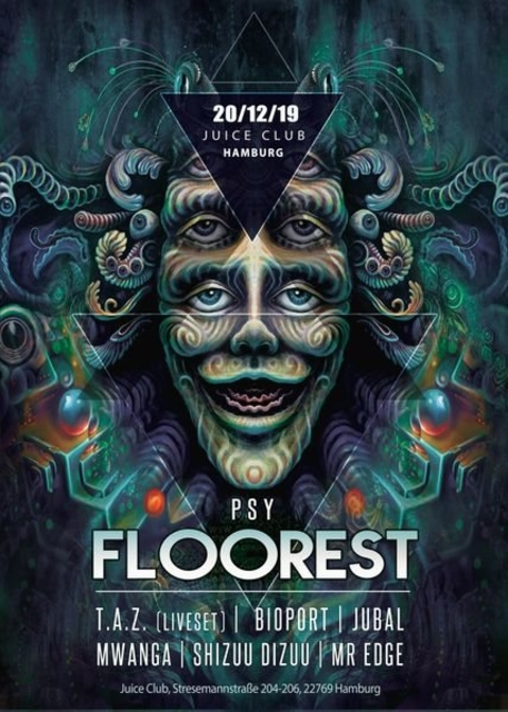 Party Flyer PSY Floorest** 20 Dec '19, 23:00