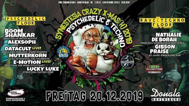 Party Flyer Synestesia We Are Family - X-Mas-Edition 20 Dec '19, 22:00
