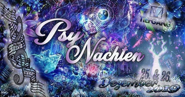 Party Flyer Psynachten 25 Dec '19, 23:00