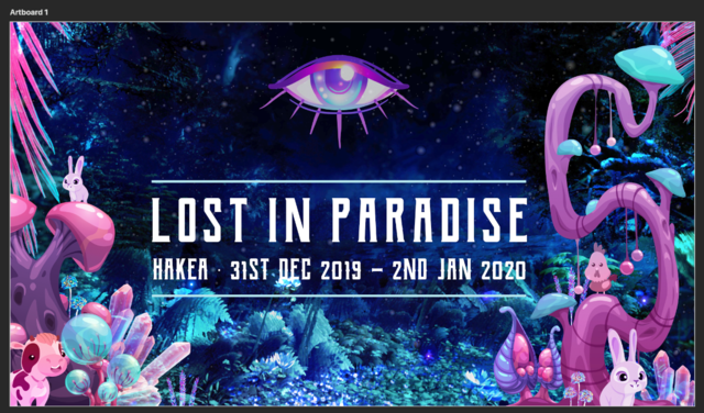 Party Flyer LOST IN PARADISE 31 Dec '19, 12:00