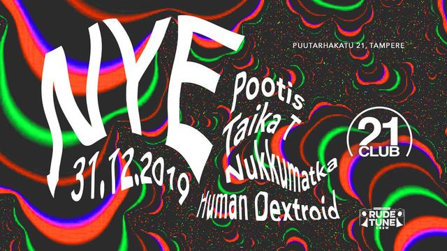 Party Flyer NYE 2019 31 Dec '19, 22:00