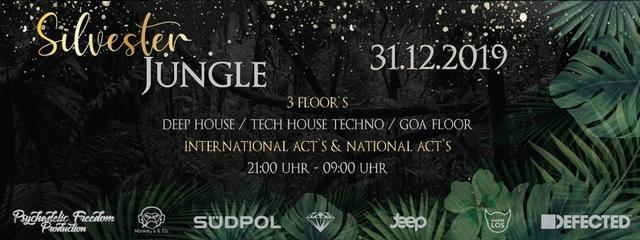 Party Flyer Silvester Jungle 31 Dec '19, 21:00