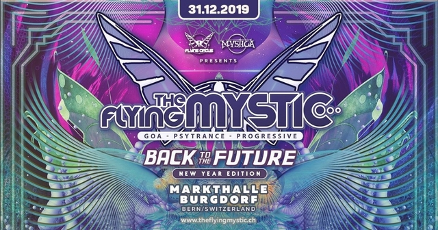 Party Flyer The Flying Mystic - Back to the Future 2019 31 Dec '19, 22:00