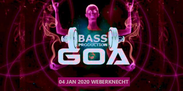 Party Flyer Bassproduction Goa Party 4 Jan '20, 22:00