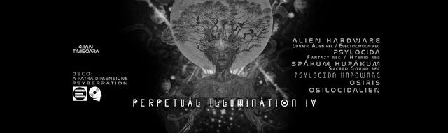 Party Flyer Perpetual Illumination IV ♃ Hi-Tech special edition 4 Jan '20, 23:00