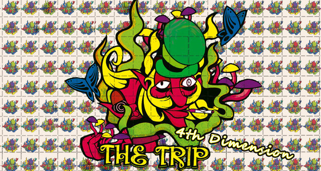 Party Flyer The Trip 4th Dimension 4 Jan '20, 22:00