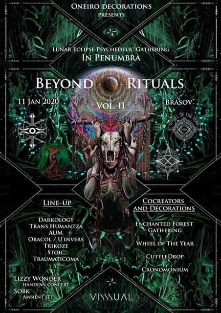 Party Flyer BEYOND RITUALS VOL II - In Penumbra 11 Jan '20, 21:00