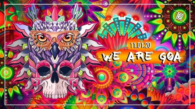 Party Flyer We are GOA w/ Kleysky 11 Jan '20, 23:00