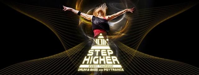 Party Flyer Step higher on Thursdays 16 Jan '20, 23:00