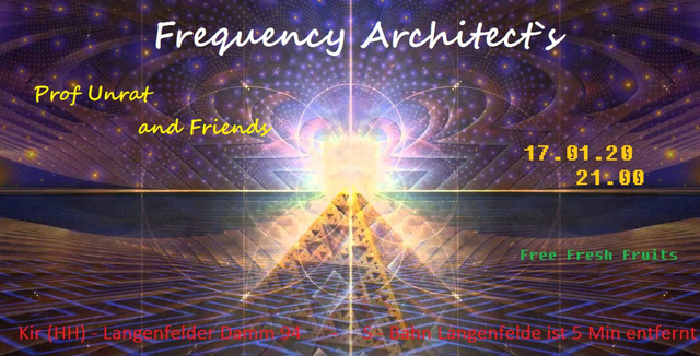Party Flyer Frequency Architect`s 17 Jan '20, 22:00