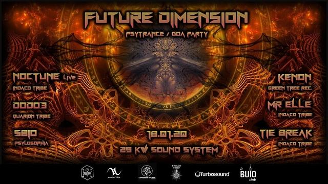 Party Flyer FUTURE DIMENSION 18 Jan '20, 23:00
