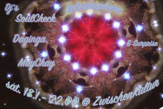 Party Flyer Kaleidosphere 18 Jan '20, 22:00