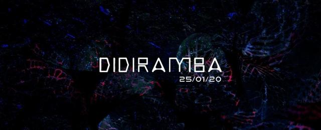 Party Flyer Didiramba 25 Jan '20, 23:00