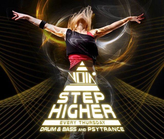 Party Flyer Step higher on Thursdays 30 Jan '20, 23:00