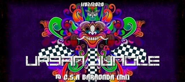 Party Flyer Urban Jungle @ C.s.a Baraonda 1 Feb '20, 23:00