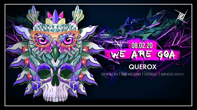 Party Flyer We are GOA w/ Querox 8 Feb '20, 23:00