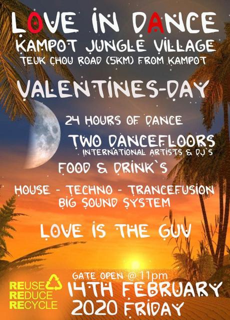Party Flyer Love in dance 14 Feb '20, 22:00