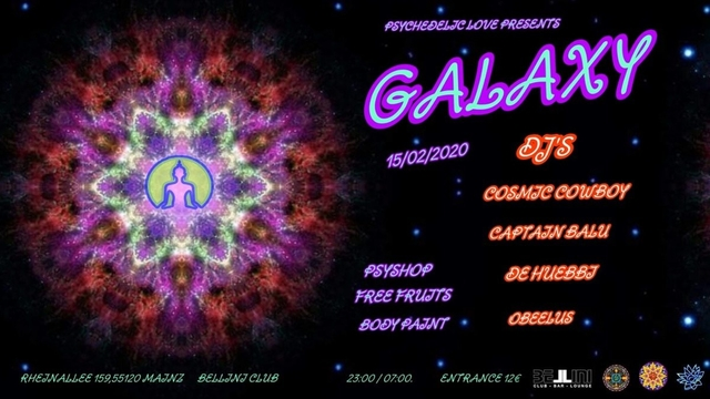 Party Flyer Galaxy ॐ 15 Feb '20, 23:00
