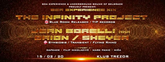 Party Flyer GOA EXPERIENCE XIX 15 Feb '20, 23:00
