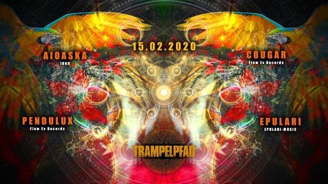 Party Flyer ☆Trampelpfad☆ mit Aioaska (Iono Music) 15 Feb '20, 23:00