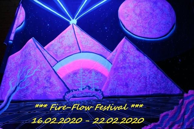 Party Flyer Fire-Flow Festival 16 Feb '20, 12:00