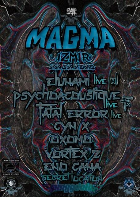 Party Flyer TheDarkCode MAGMA Izmir 22 Feb '20, 21:00