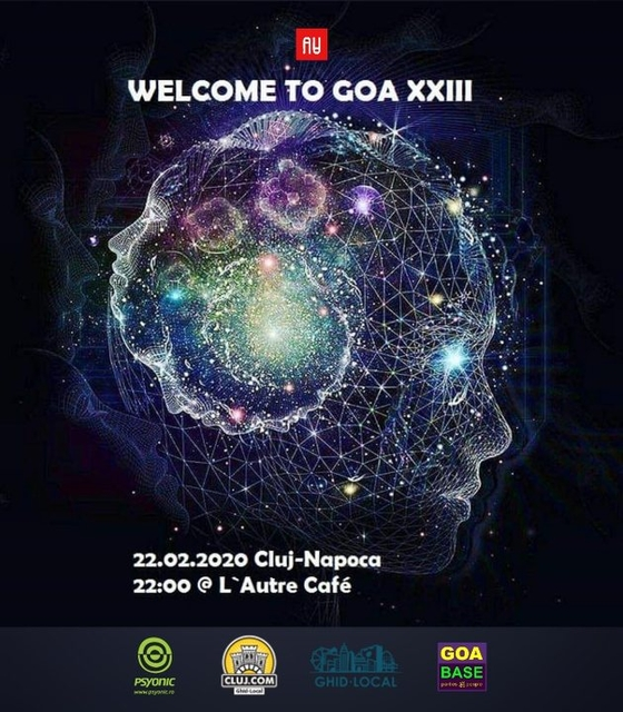 Party Flyer Welcome To GOA 23 22 Feb '20, 22:00