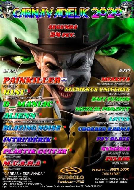 Party Flyer CARNAVADÉLIK 2020 24 Feb '20, 23:00