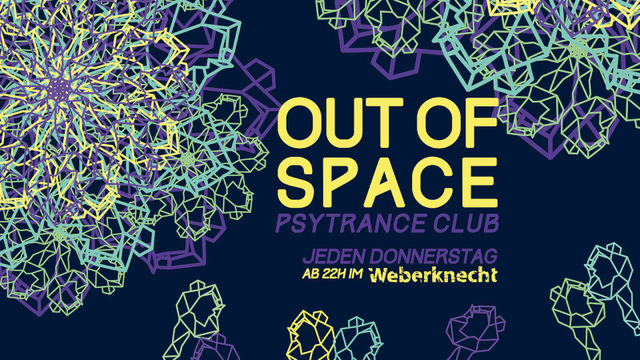 Party Flyer OUT of SPACE 27 Feb '20, 22:00