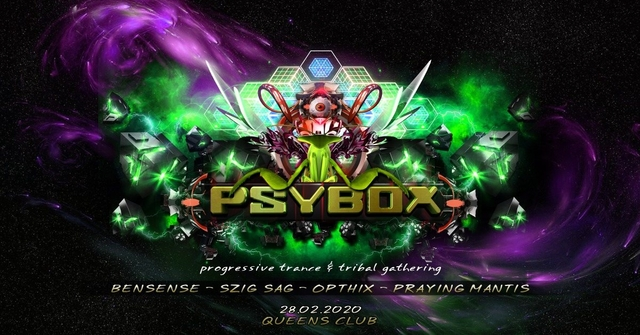 Party Flyer Psybox - Creation ॐ 28 Feb '20, 22:00