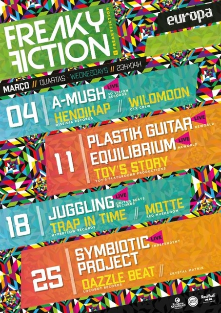 Party Flyer FREAKY FICTION 4 Mar '20, 23:00