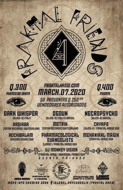 Fraktal Friends 4 7 Mar '20, 20:00