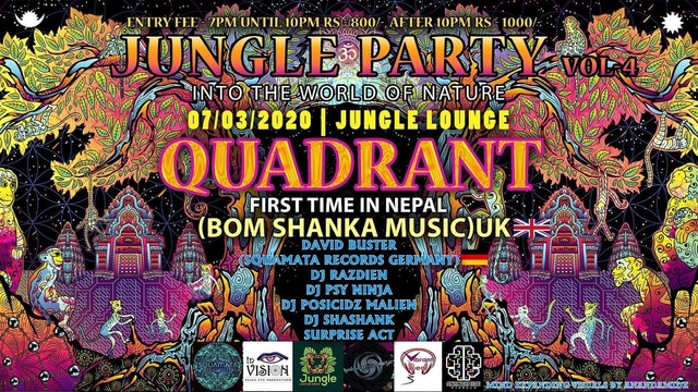 Party Flyer Jungle Party Vol 4 7 Mar '20, 19:00