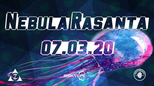 Party Flyer Nebula Rasanta 7 Mar '20, 23:00