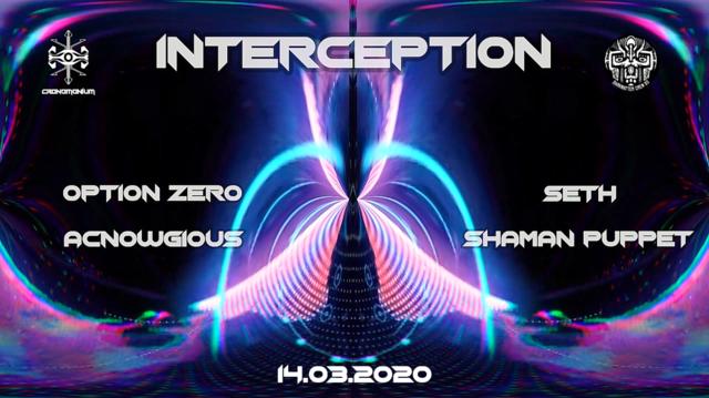 Party Flyer Interception : West Side 14 Mar '20, 22:00