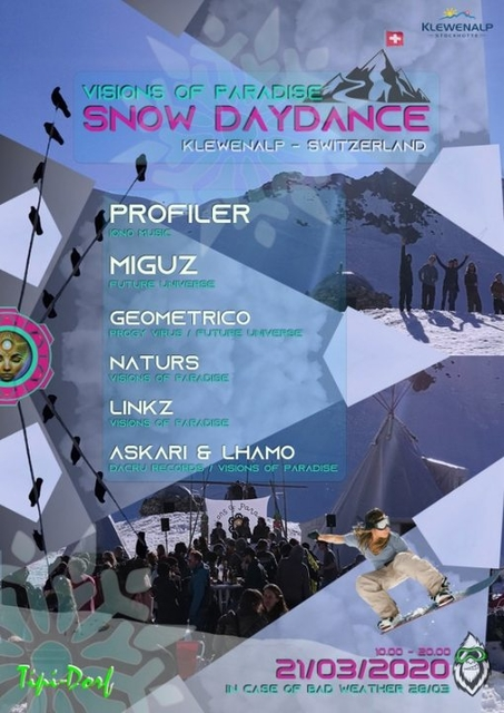 Party Flyer Snow Day Dance 2020 21 Mar '20, 10:00