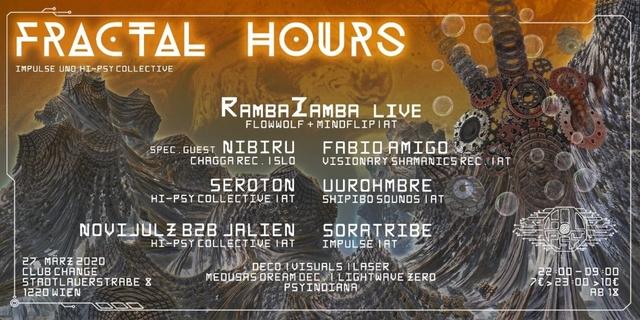 Party Flyer Fractal Hours 27 Mar '20, 22:00