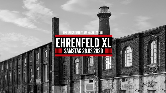 Ehrenfeld XL 28 Aug '20, 22:00