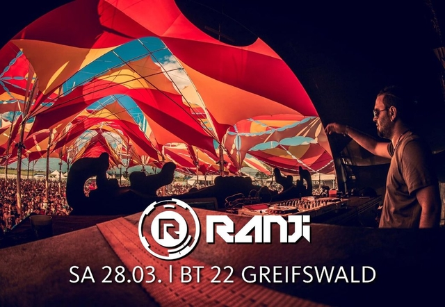 Party Flyer Visiontolegy pres RANJI [Israel] l Sa 24.04. l BT 22 Greifswald 24 Apr '21, 22:00