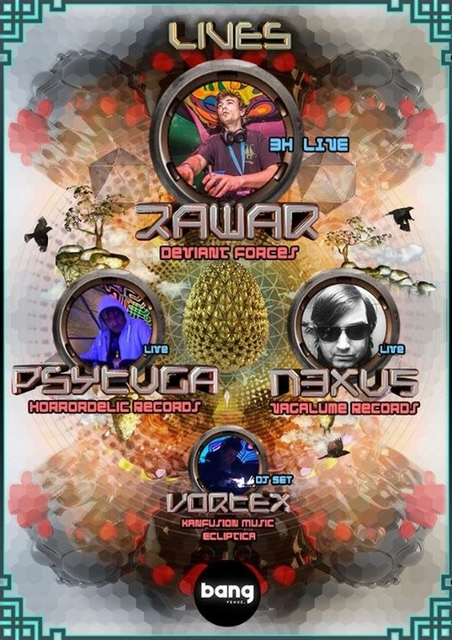 Party Flyer Magic Sector Rawar Live 3h set (1ª vez Zona Lisboa) 11 Apr '20, 23:00