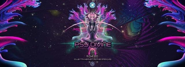 Party Flyer Psy Divine 11 Apr '20, 21:00