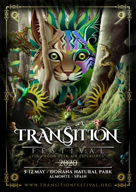 Party Flyer Transition Festival 2020 5 May '20, 22:00