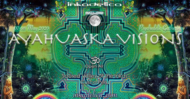 Party Flyer AYAHUASKA VISIONS - FULLMOON 1 May '21, 19:00