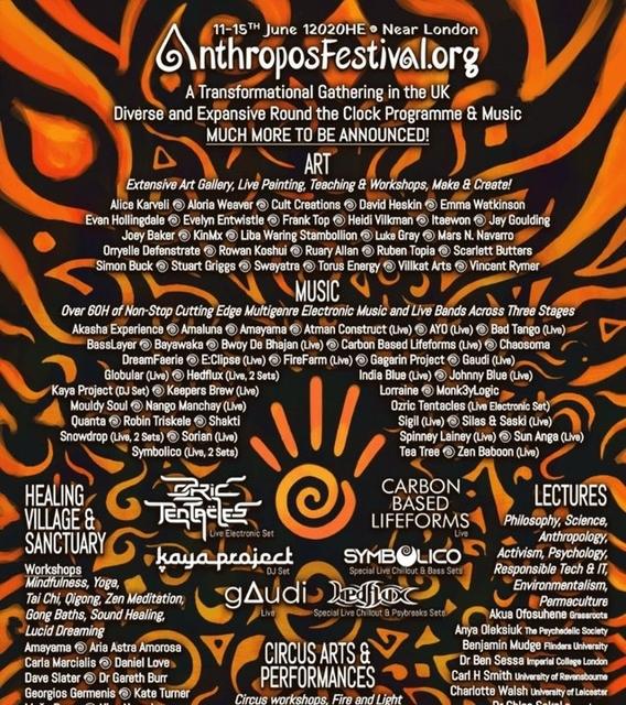 Anthropos Festival 12020 11 Jun '20, 12:00