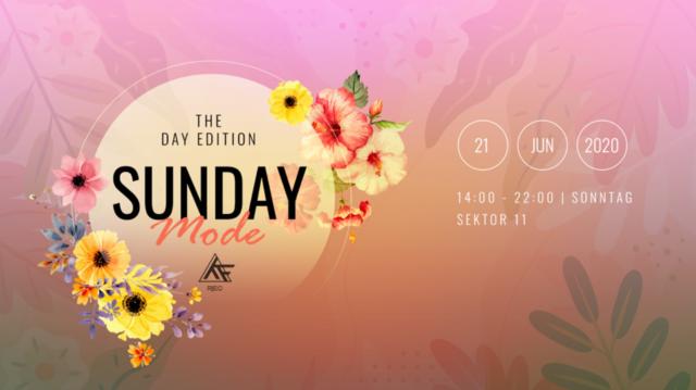 Party Flyer ♫★ SundayMode2 ♫★ w// Flash Jack / Memento Mori / Phazed amm. 21 Jun '20, 14:00